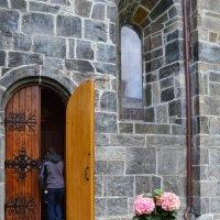 Дверь Церкви Пресвятой Девы Марии :: Ольга