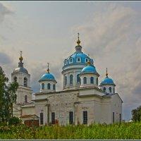 Церковь Сошествия Святого Духа в Новом, 1829-53г. :: Дмитрий Анцыферов