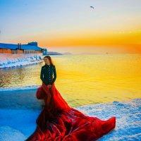 на закате... :: Татьяна Бикетова