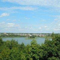 Браслав. Вид с Замковой горы :: Виктория Флейта