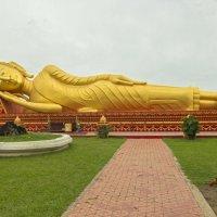 Лаос. Вьентьян. Лежащий Будда :: Владимир Шибинский