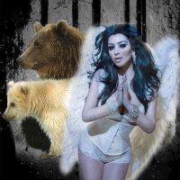 Ангел средь медведей :: Сергей