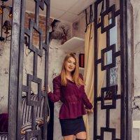 """Очаровательная модель в в студии """"Lightroom"""" :: Дарья Осипова"""
