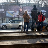 Уличные сценки 1/4 :: Асылбек Айманов