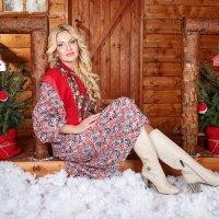 Новогодняя Избушка. :: Оксана Зарубина