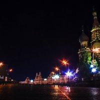 Огни Москвы. :: Анастасия Мирошина