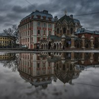 Утро, ноябрь, Санкт-Петербург :: Владимир Горубин