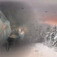 «Белый зимний вечер ...» :: vitalsi Зайцев