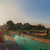 Индия.Круговая панорамма комплекса Тадж- Махал. :: юрий макаров