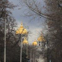 Городской пейзаж :: Юрий Гайворонский
