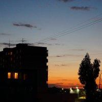 Красивый закат :: Оля Сухинина