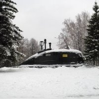 База подводных лодок в лесу :: Владимир Ростовский