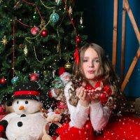 Новогодняя Сашенька :: Катя Тихонова
