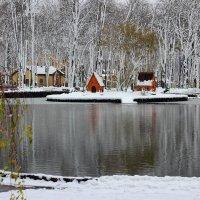 Озеро зимой. :: ВАСИЛИЙ ГРИГОРЬЕВИЧ К.