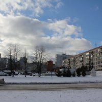 Уютные дворы предместья :: Наталья Золотых-Сибирская