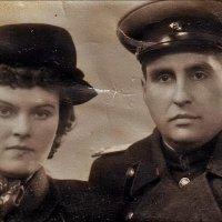 Супруги. Багратионовск, 1953 год :: Нина Корешкова