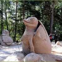 Песчаная скульптура в зоопарке Хельсинки :: Вера