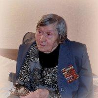 Клавдия Спиридоновна, 99 лет :: Валентина Данилова
