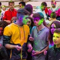 Вожди цветнокожих болтающие о своем,о личном) :: Ольга Криворучко