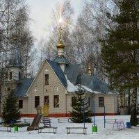 Сельский православный храм :: Милешкин Владимир Алексеевич