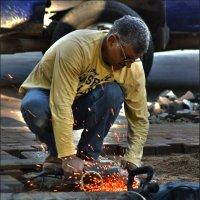Дорожный рабочий :: Shmual Hava Retro