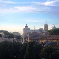 Небо и крыши Рима :: Плюшевая Пальма