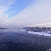 Замерзающая Томь :: Наталия Григорьева