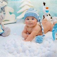 Новогодняя фотосессия для младенцев :: марина алексеева