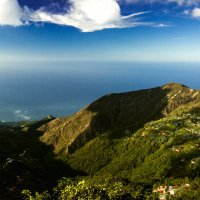Вид на море с вершины гор :: Николай Бакс
