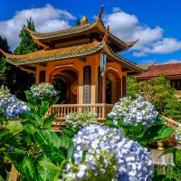 В монастыре Чук Лам. Далат. Вьетнам. :: Rafael