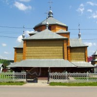 Греко - католический  храм  в  Вовчинце :: Андрей  Васильевич Коляскин