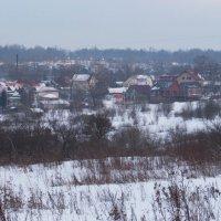 Зимний пейзаж :: Александр Шилов