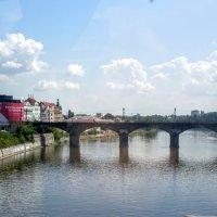 Мост через Влтаву. :: Larisa Ereshchenko