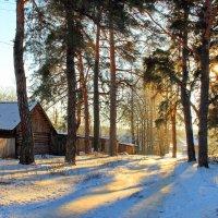Соскучилась деревня по зиме... :: Лесо-Вед (Баранов)