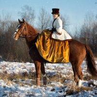 ......картинки с зимней охоты :: Виктор Перякин
