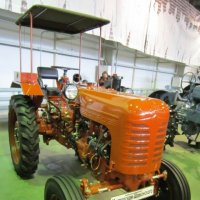 Оранжевый трактор :: Дмитрий Никитин