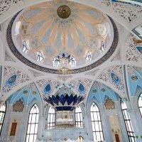 Мечеть Кул Шариф. Купол и люстра. :: Anatoliy Pavlov