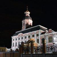Благовещенская – Александро-Невская церковь вечером :: Галина Galyazlatotsvet