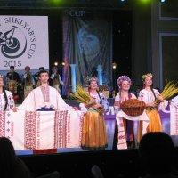 Украинскую хлеб-соль и сало в шоколаде теперь знают все танцоры мира. :: Алекс Аро Аро
