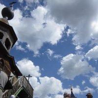 Трапеза под облаками :: Лариса Чудиновских