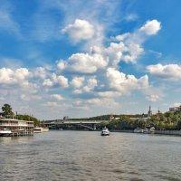 Река Москва :: Вячеслав Касаткин