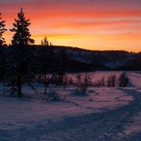 Полярная ночь в Мурманске :: Sergey