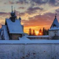 Короткий зимний закат.. :: марк