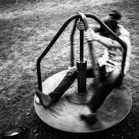 In a centrifuge. :: Илья В.