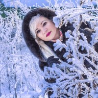 Настоящая зима. :: Наталья Малкина