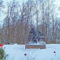 Лицейский сквер. Памятник А.С.Пушкину :: alemigun