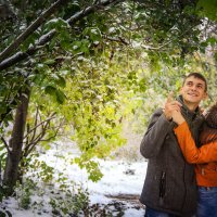Первый снег :: Евгения Вереина