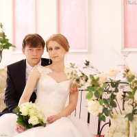 Фото жениха и невесты (1389) ЗАГС г. Наро-Фоминск. :: Виктор Мушкарин (thepaparazzo)