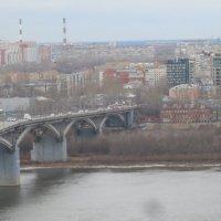 Туманное утро в Н. НОвгороде :: Мила
