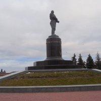 Памятник Чкалову :: Мила